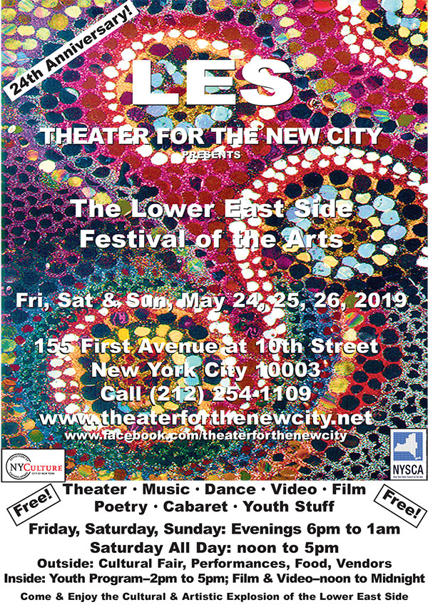 24th Annual Lower East Side Festival of the Arts – Theater for the